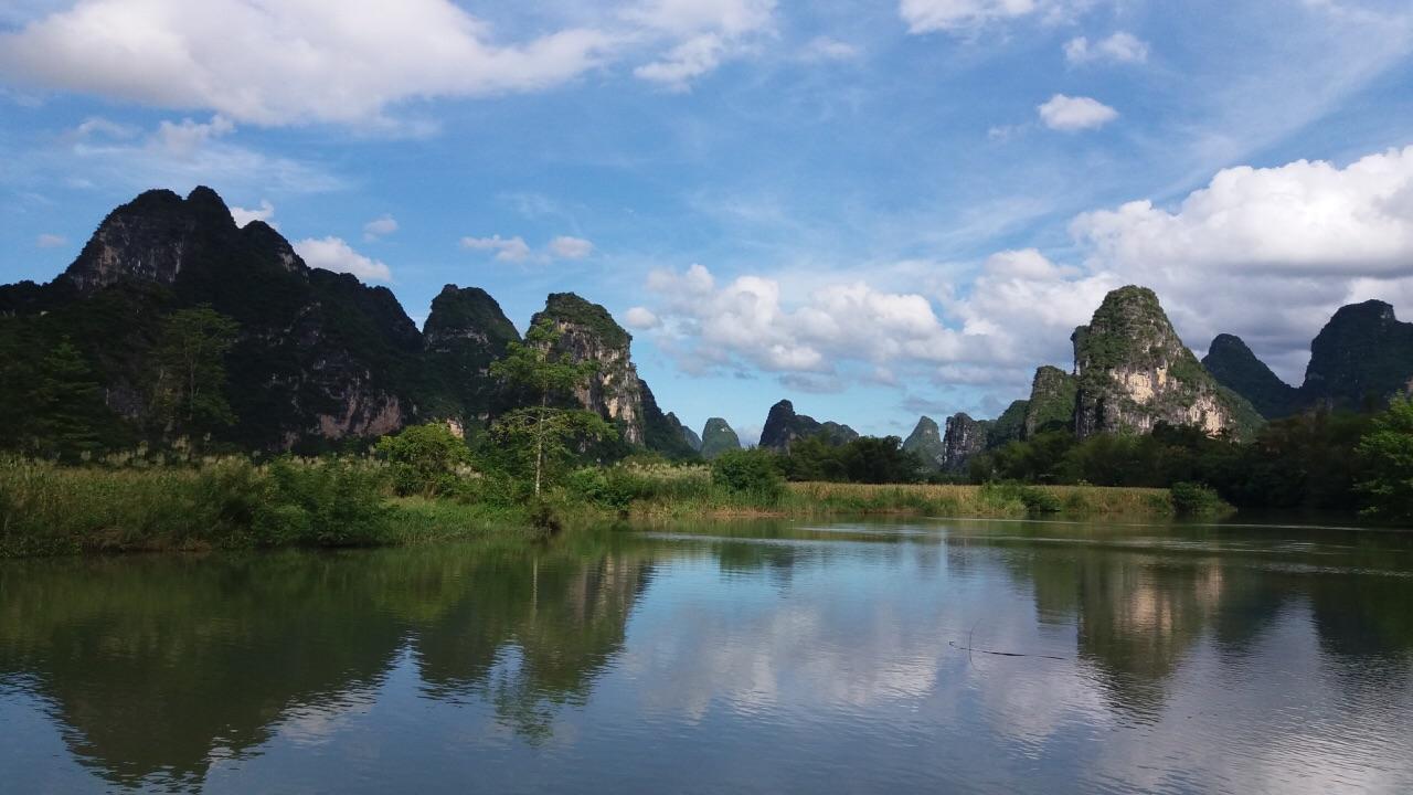【携程攻略】大新明仕田园景点,做竹筏游览景区 会有