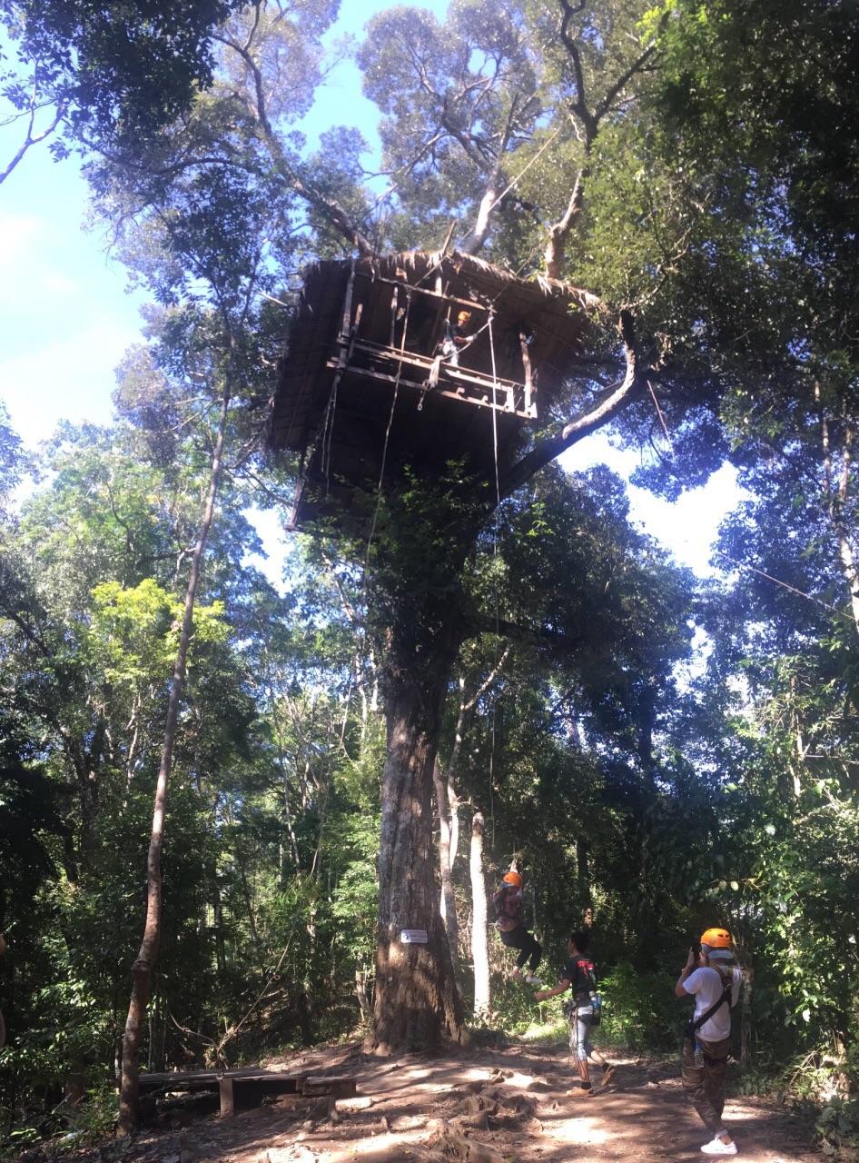 hanuman world丛林飞跃图片