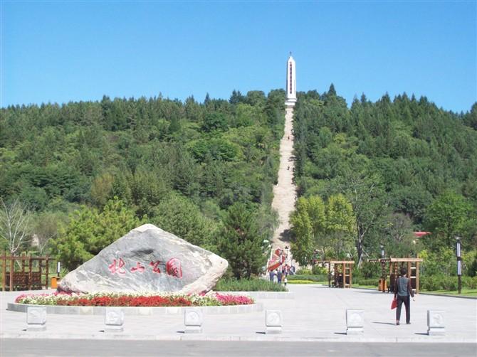 敦化市烈士陵园旅游景点攻略图