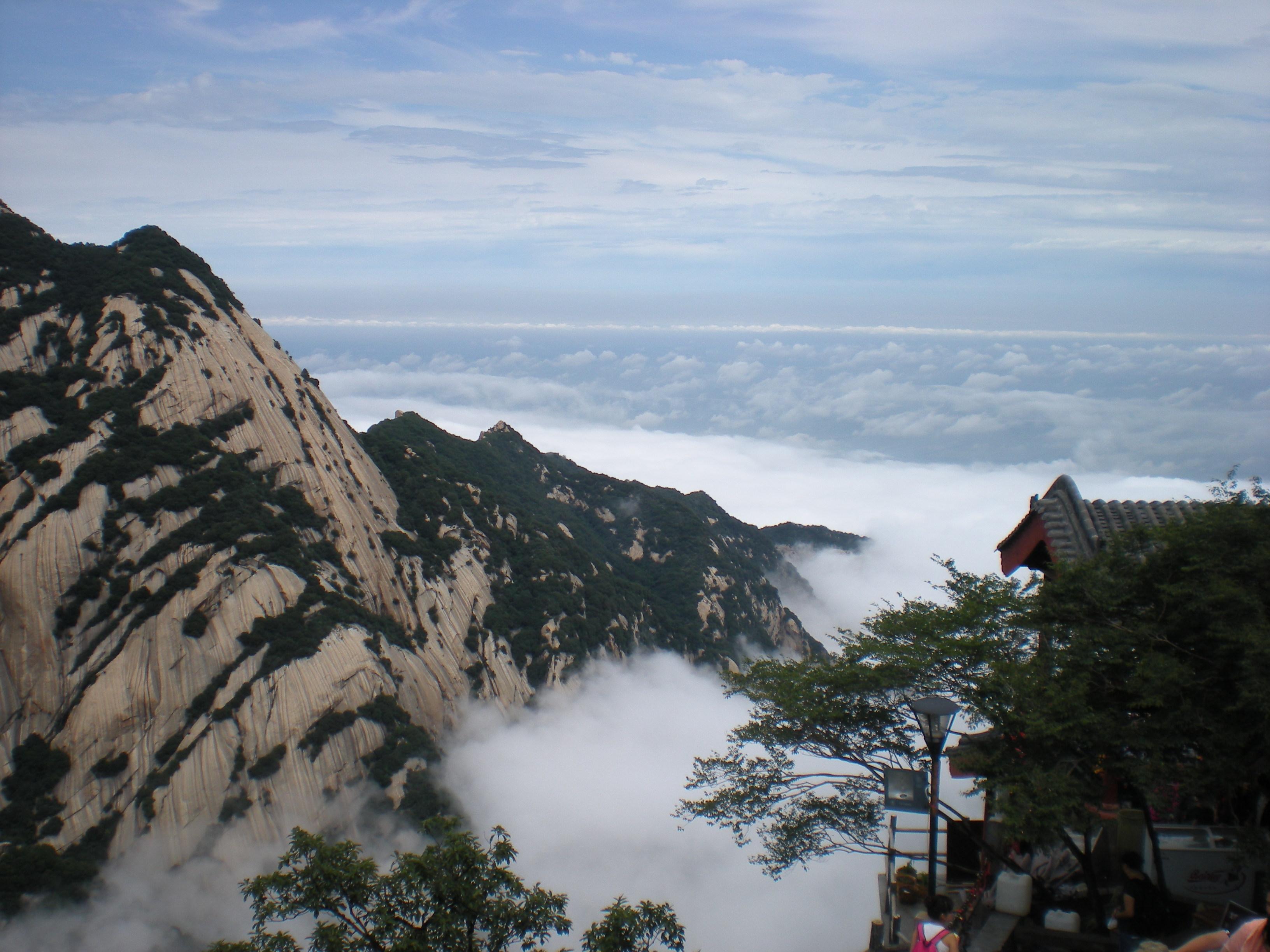 【携程攻略】华山北峰好玩吗,华山北峰景点怎么样图片
