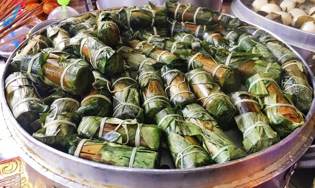 糖油粑粑红油串串还有叶儿粑图片
