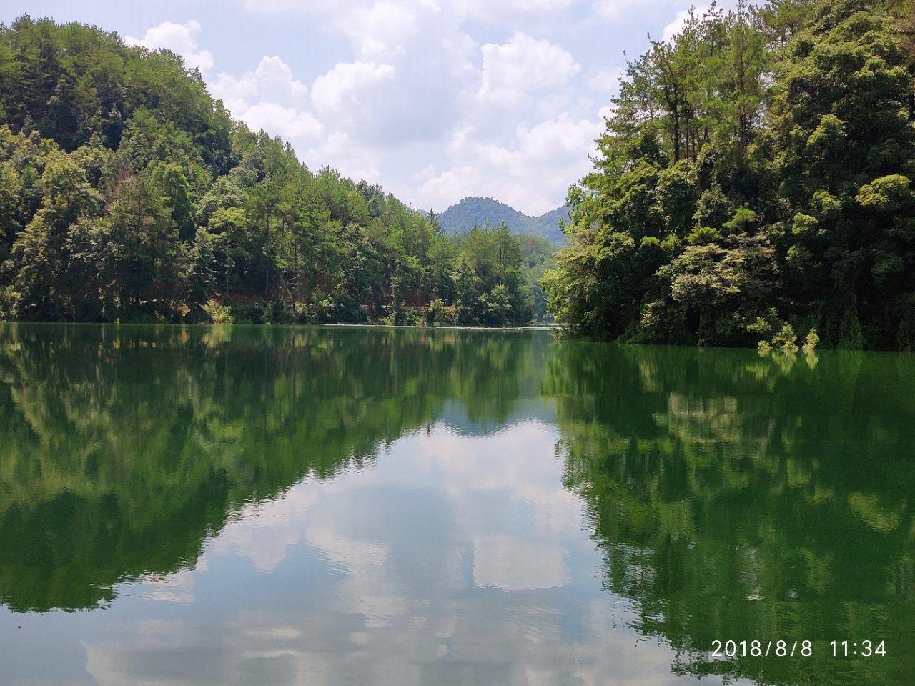 阳明湖(原陡水湖)风景区