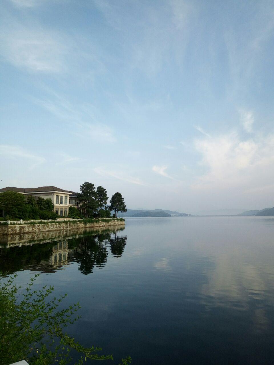 四明湖開元山莊餐廳旅游景點攻略圖