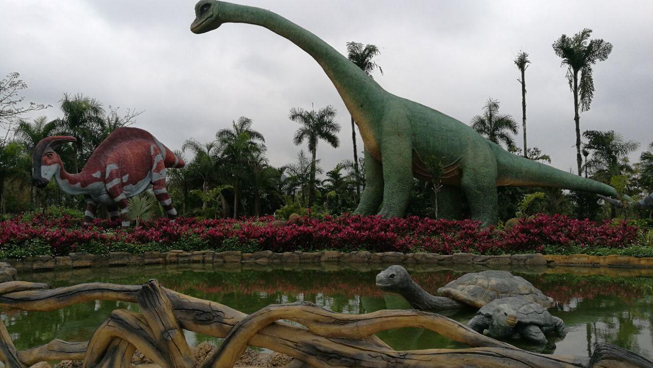 龙谷湾恐龙公园旅游景点攻略图