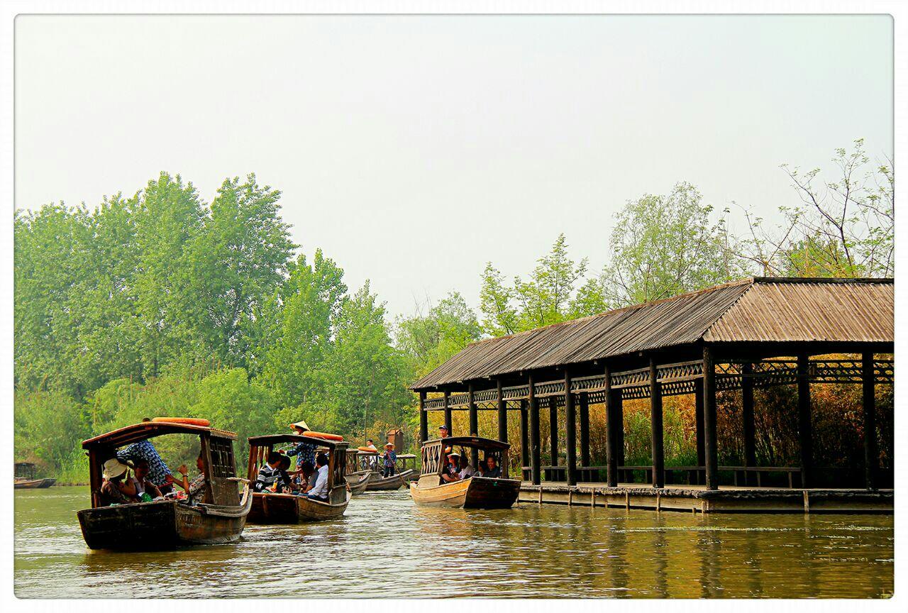 【携程攻略】江苏溱湖国家湿地公园景点,作为泰州最的