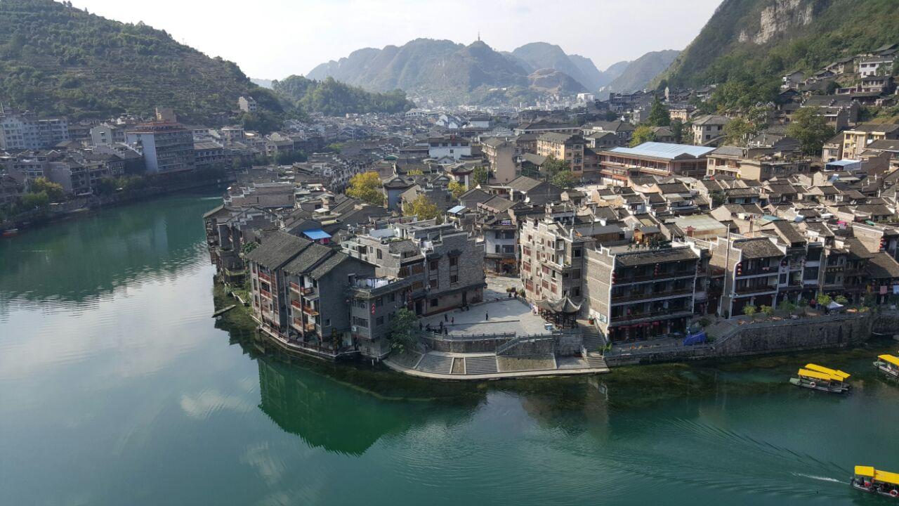 壁纸 风景 古镇 建筑 旅游 山水 摄影 桌面 1280_720
