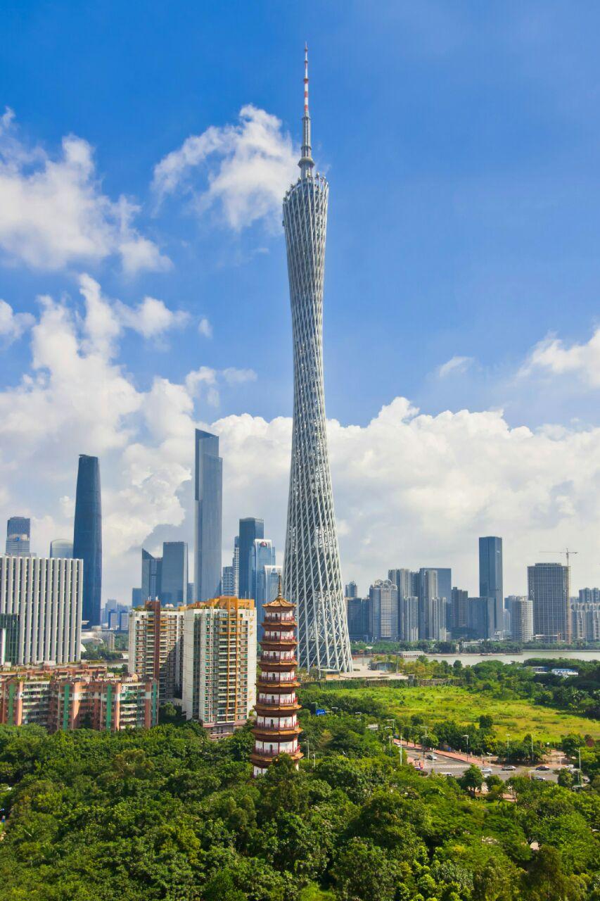 广州建筑手绘图图片