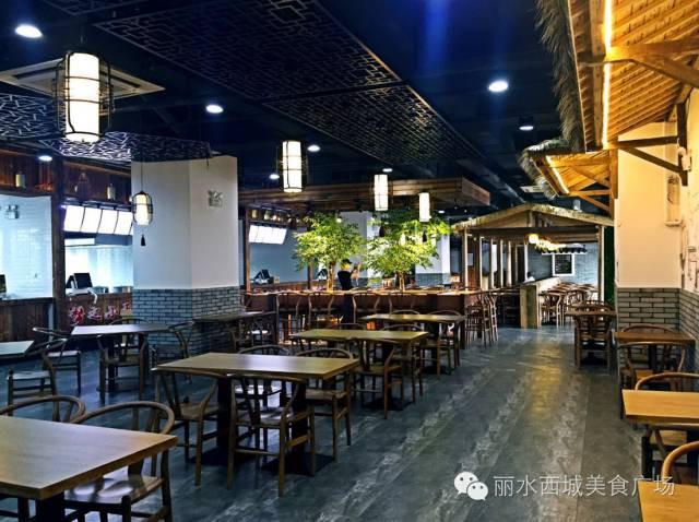 丽水西城美食美食记送餐员广场大悟图片