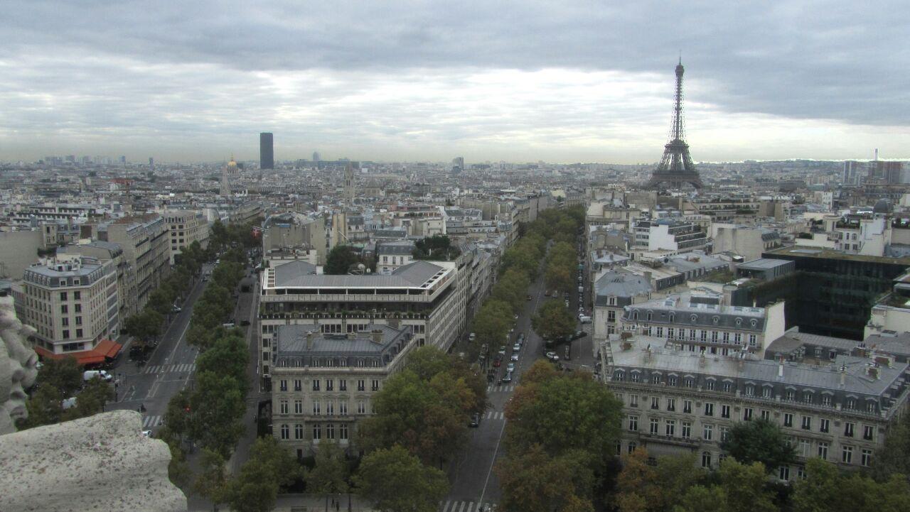 巴黎马路素材高清图
