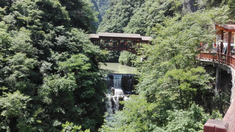 【携程攻略】保康五道峡风景区景点,蛮不错,探玉洞和