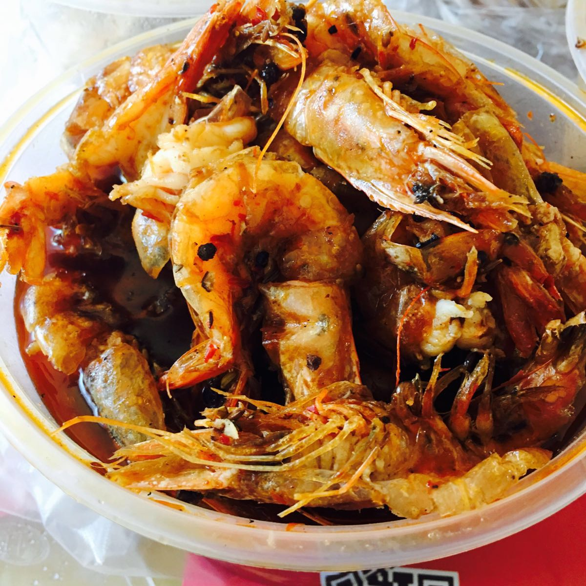 出游                                  阿田大虾  先吃虾再涮别的涮图片