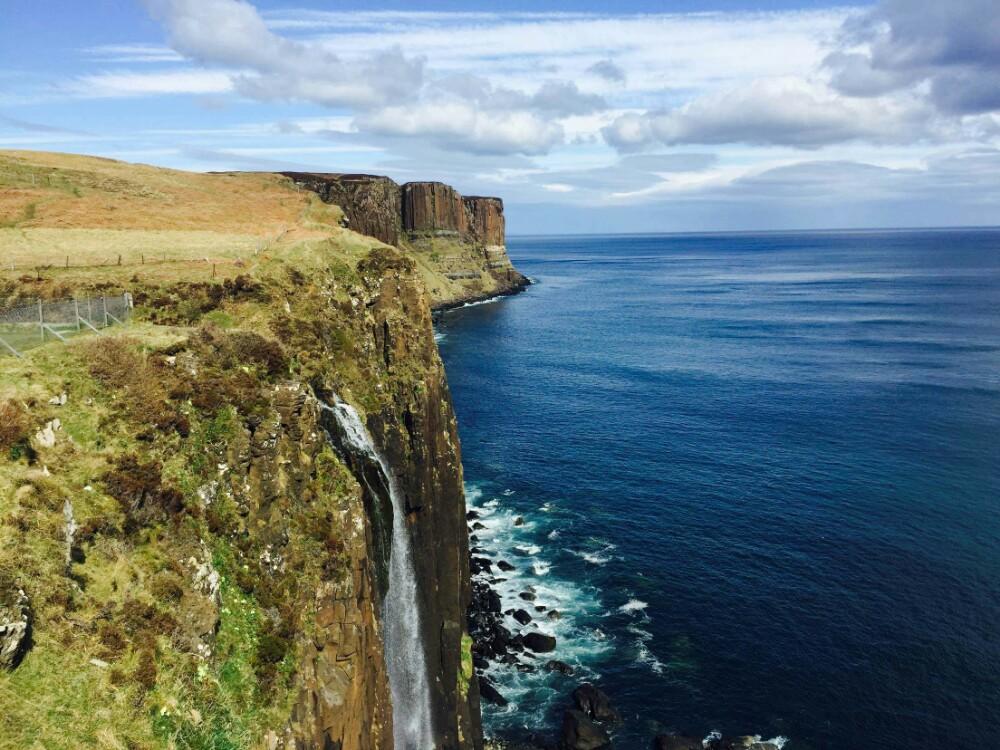 【携程攻略】天空岛苏格兰裙岩悬崖景点,苏格兰天空岛