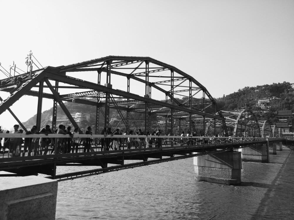 【携程攻略】甘肃兰州黄河铁桥好玩吗,甘肃黄河铁桥样