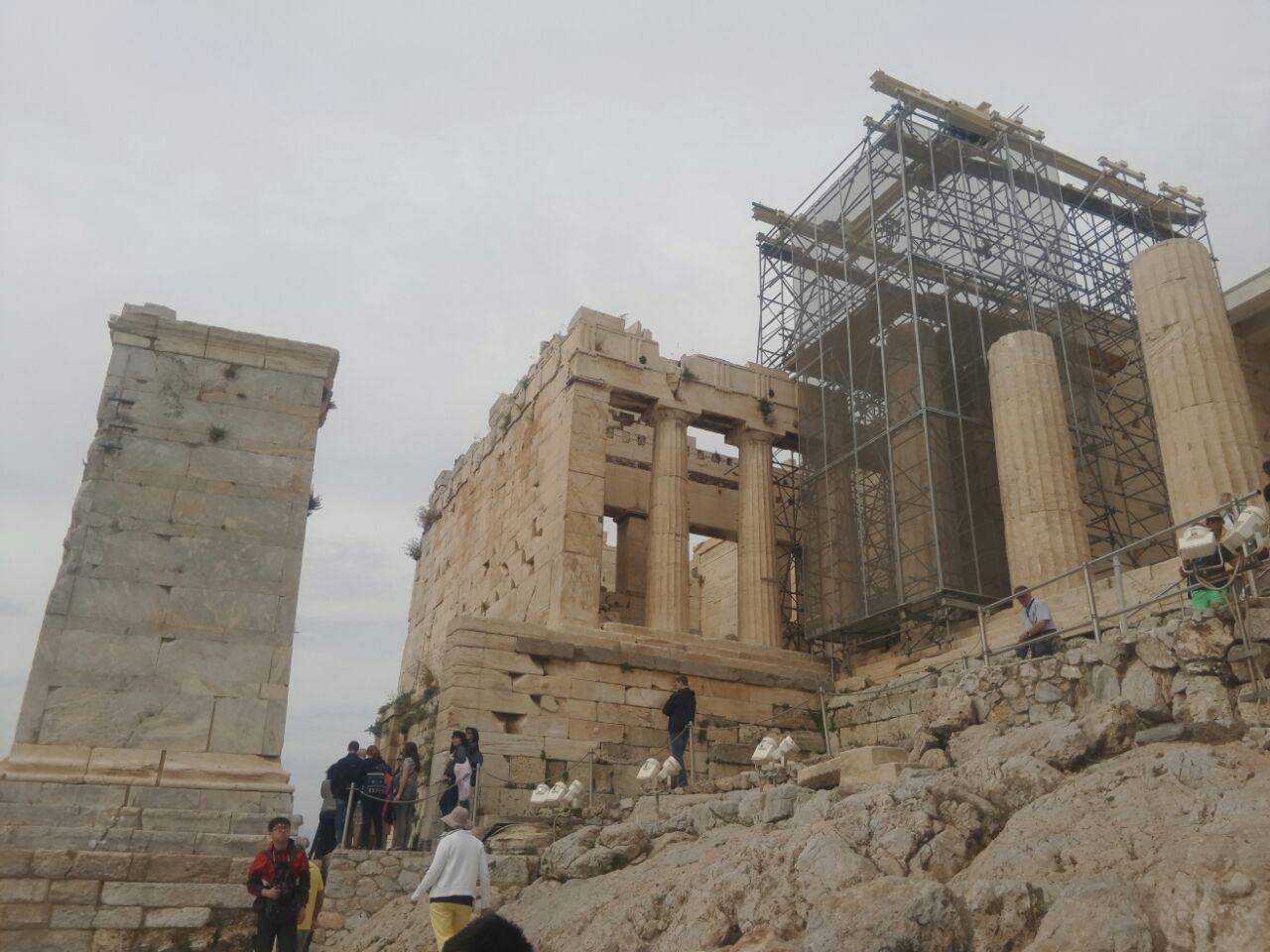 【携程攻略】阿提卡卫城山门景点,希腊……雅典……就