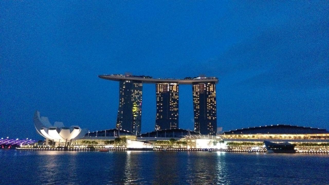 新加坡鱼尾狮像公园好玩吗,新加坡鱼尾狮像公园景点样