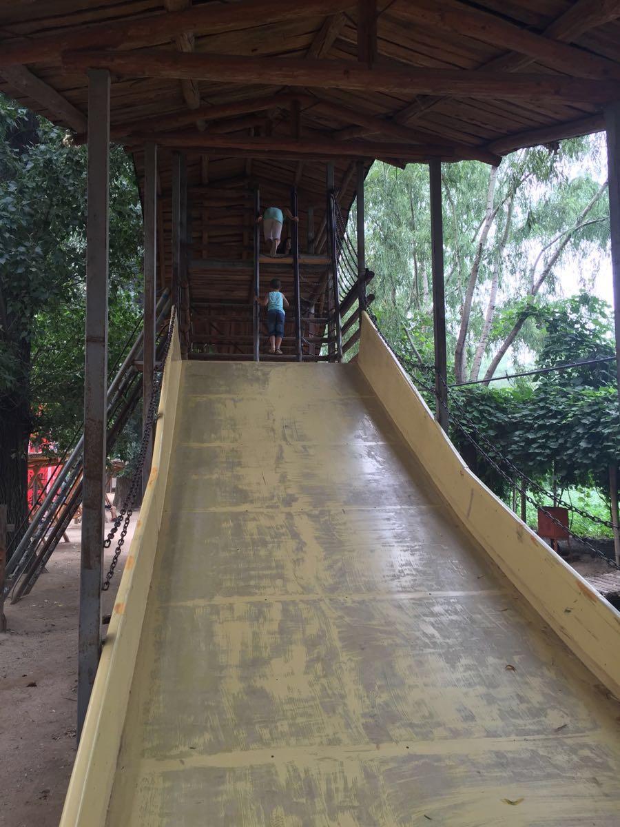 孩子从小玩到大的地方,越建越好了,小动物园,拓展训练,复古的游乐