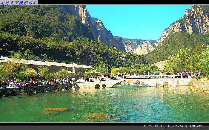 【携程攻略】河南云台山风景名胜区景点,红石峡最漂亮