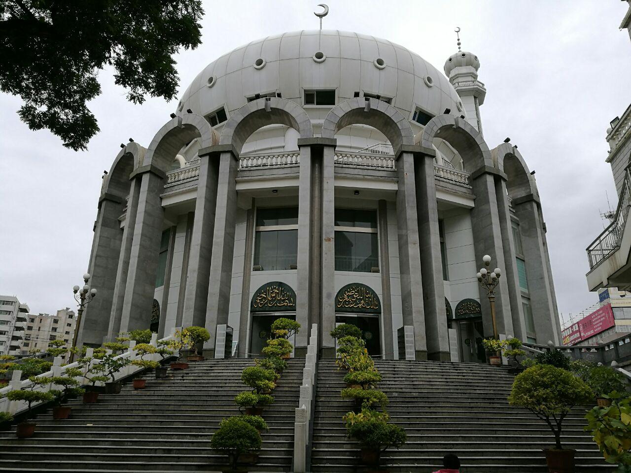 宁夏西关清真寺图片
