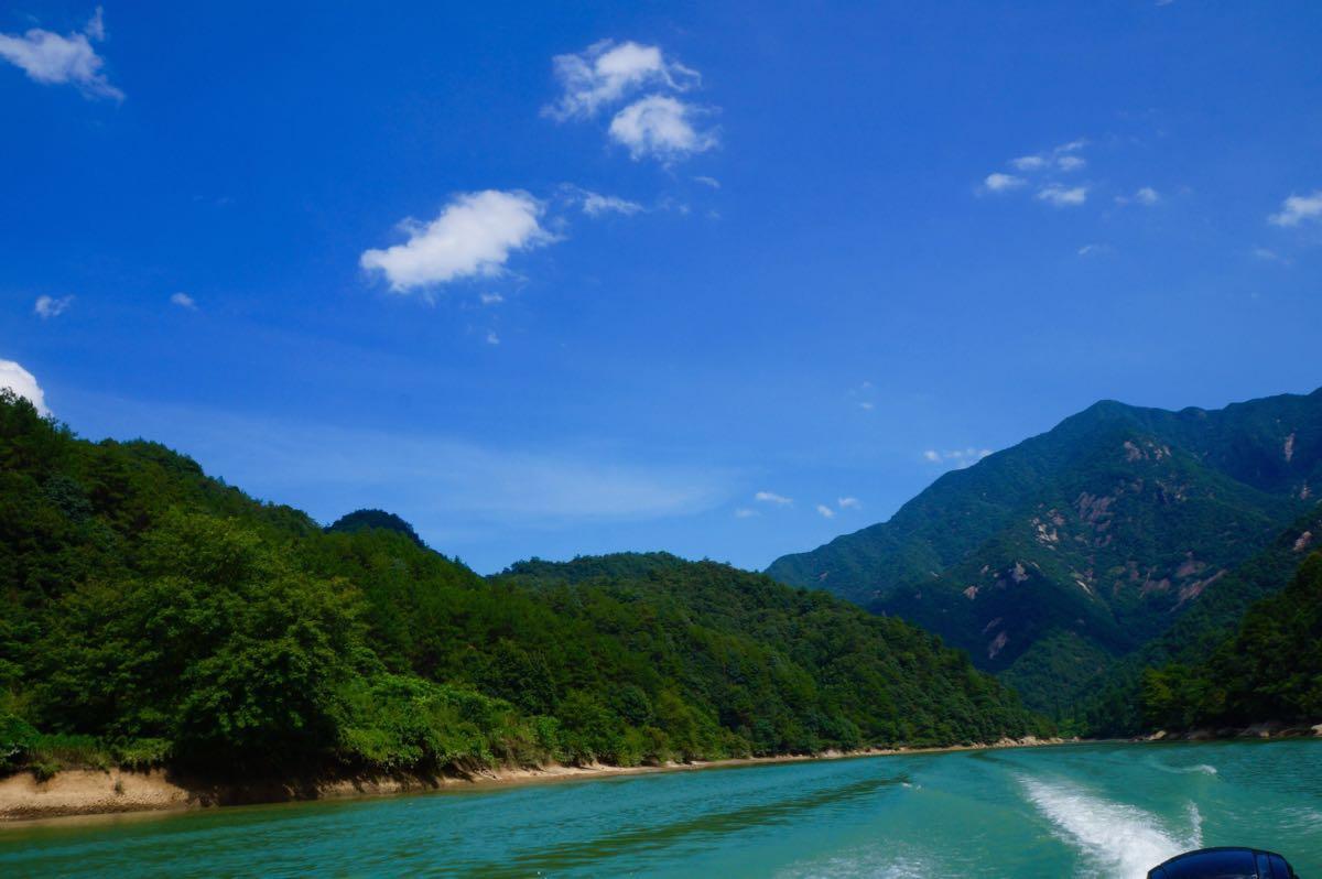 浙西三峽快艇飛舟旅游景點攻略圖