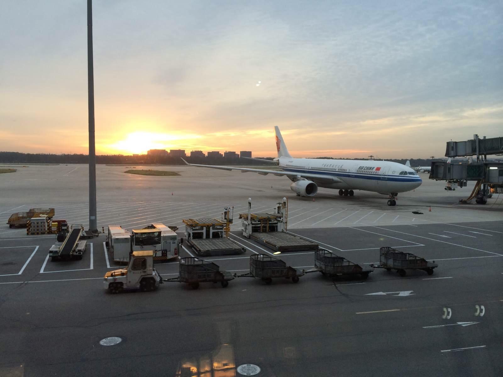 北京首都国际机场是中国的空中门户和对外交流的重要