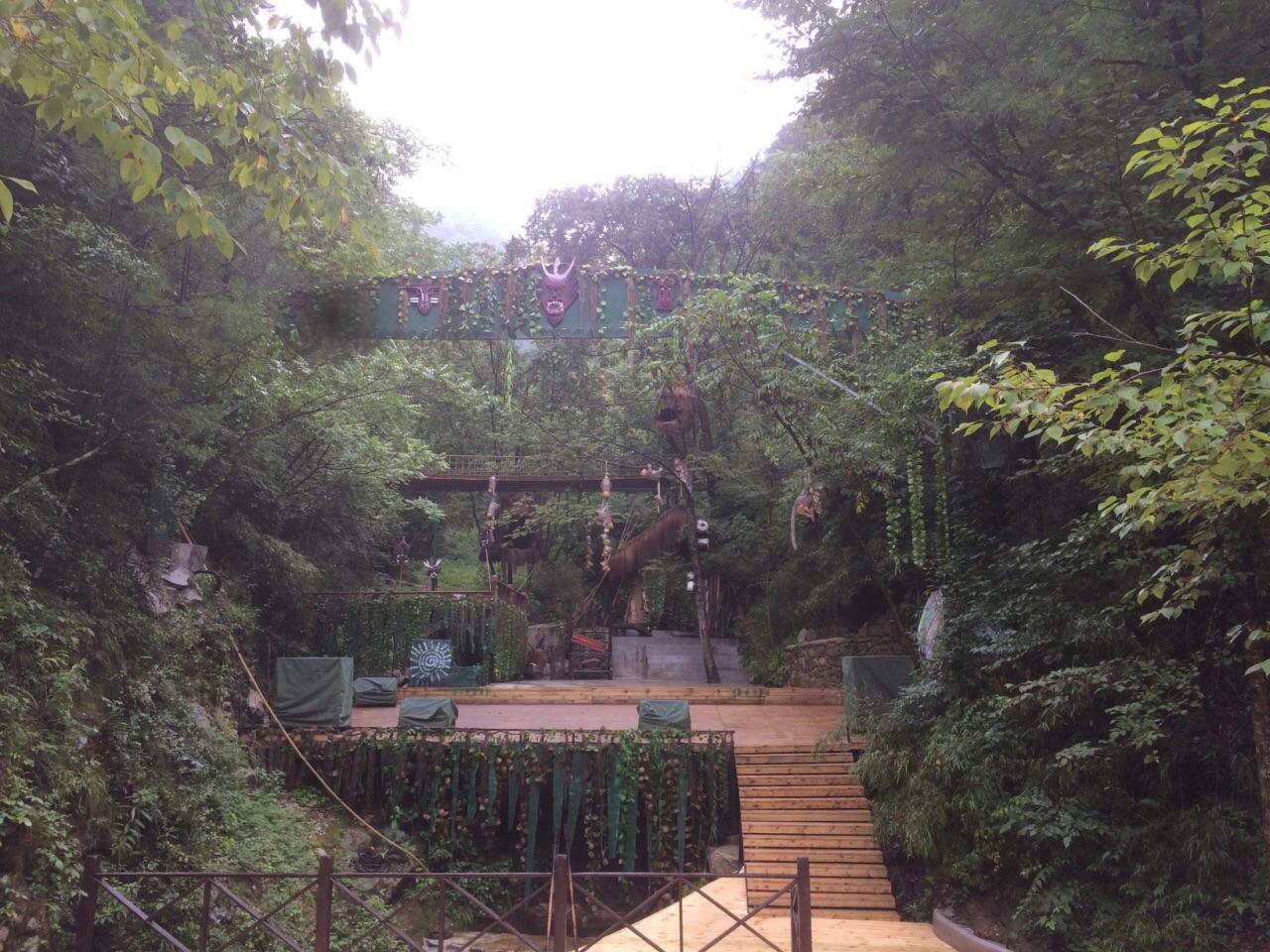 佛坪熊猫谷旅游景点攻略图