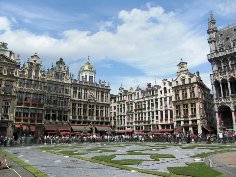 欧式广场铺装设计