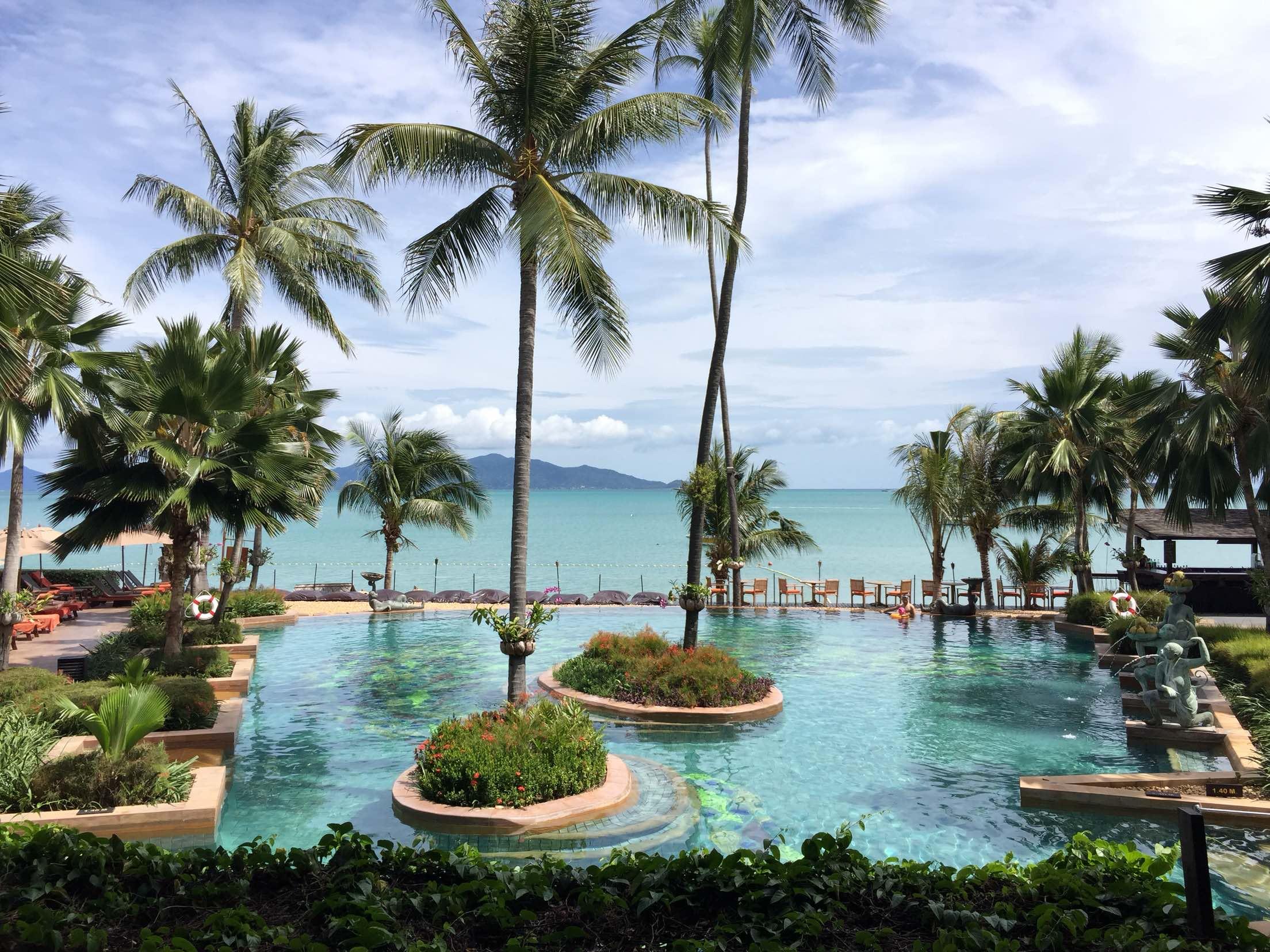 苏梅岛安纳塔拉波普度假酒店