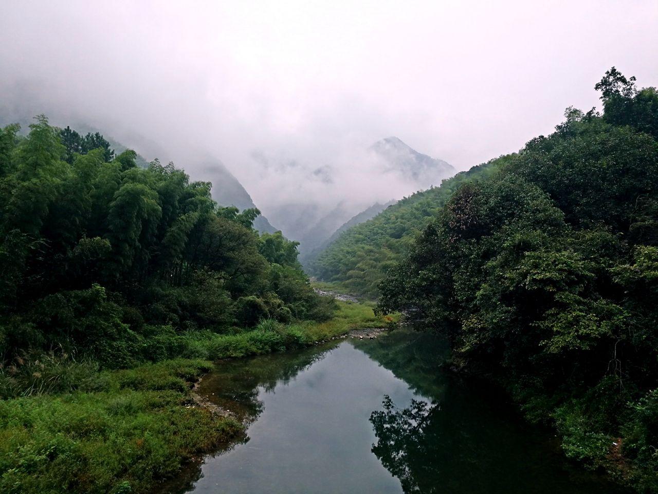 泾县水墨汀溪风景区好玩吗,泾县水墨汀溪风景区景点样