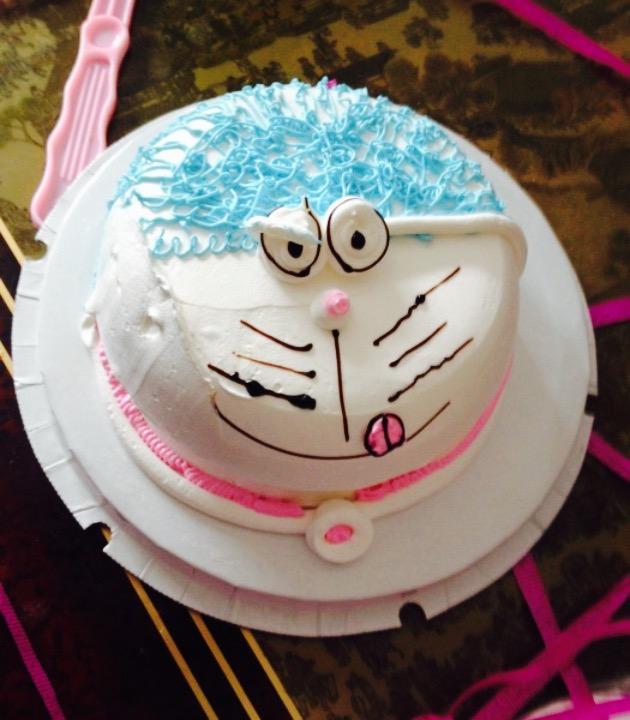 还有蛋糕的形状也很可爱,小孩特别开心,下次再去团一个.