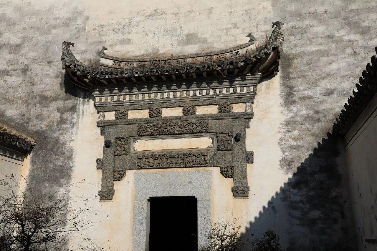 卢村马克笔徽派手绘