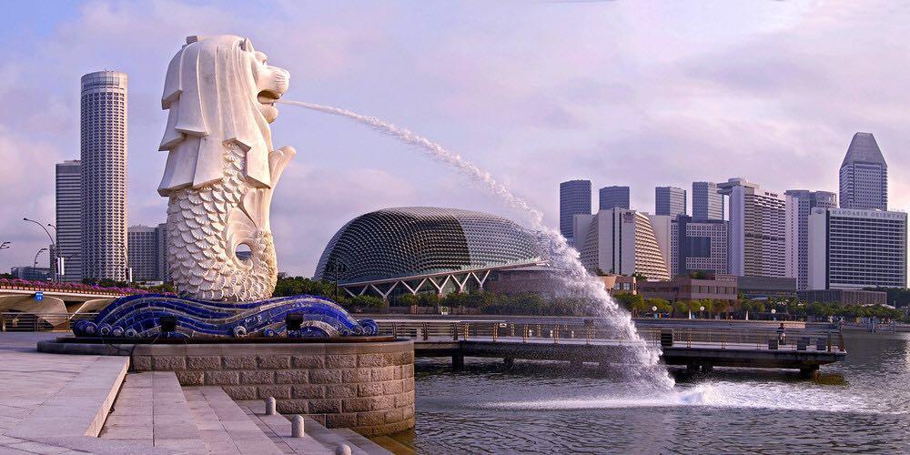 【携程攻略】新加坡鱼尾狮像公园好玩吗,新加坡鱼尾狮