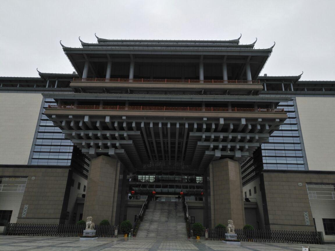 桂林旅游学院食堂照片