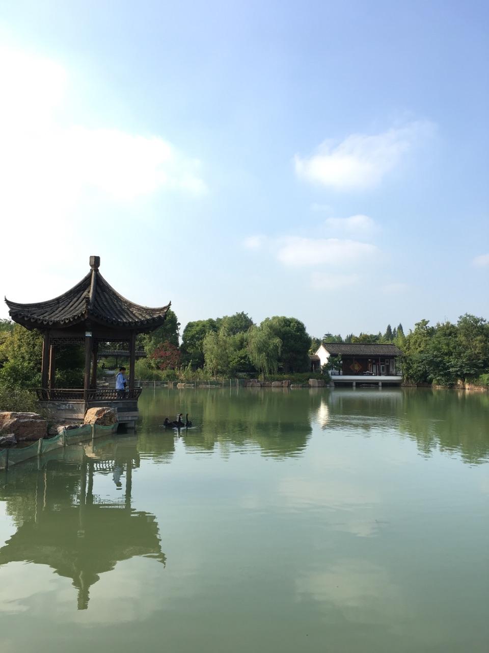 【携程攻略】常熟尚湖风景区好玩吗,常熟尚湖风景区样