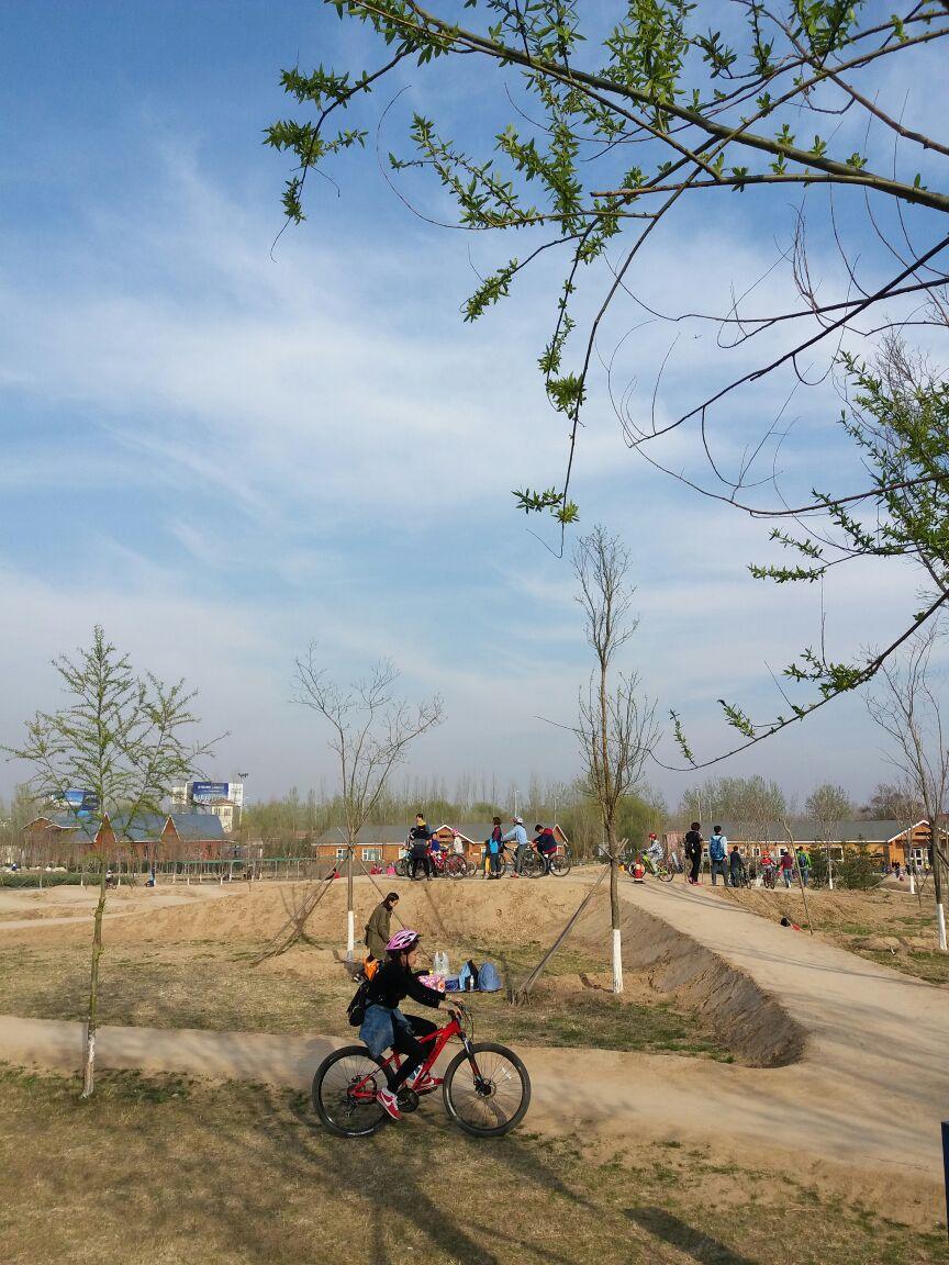 永定河自行车运动公园图片