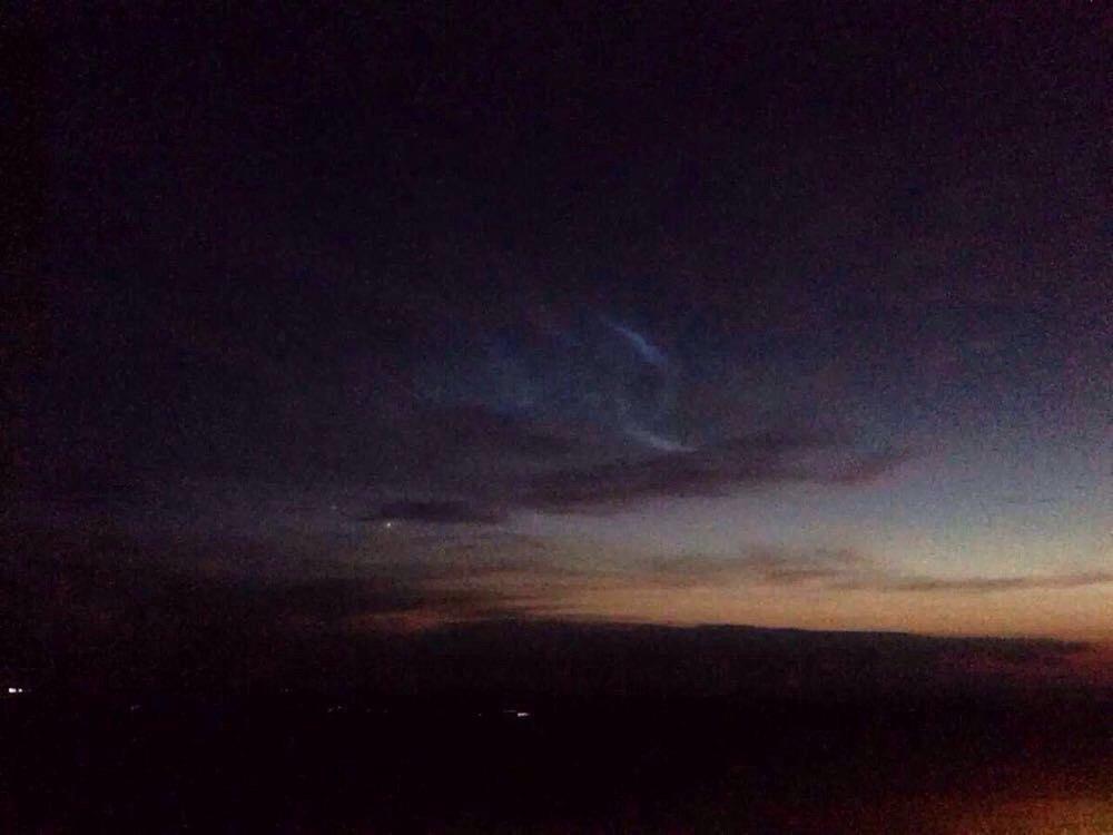 披星戴月,夜晚的天空