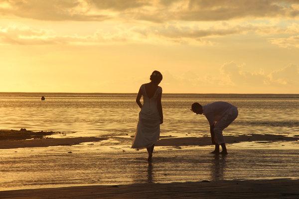 美少女&大叔男的毛里求斯情人节和羊年春节