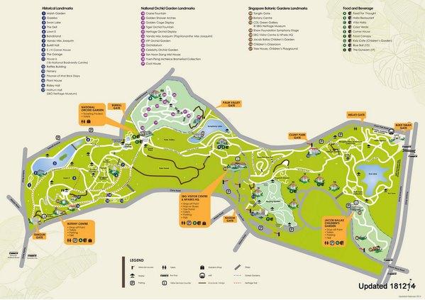 导览                              新加坡植物园导览