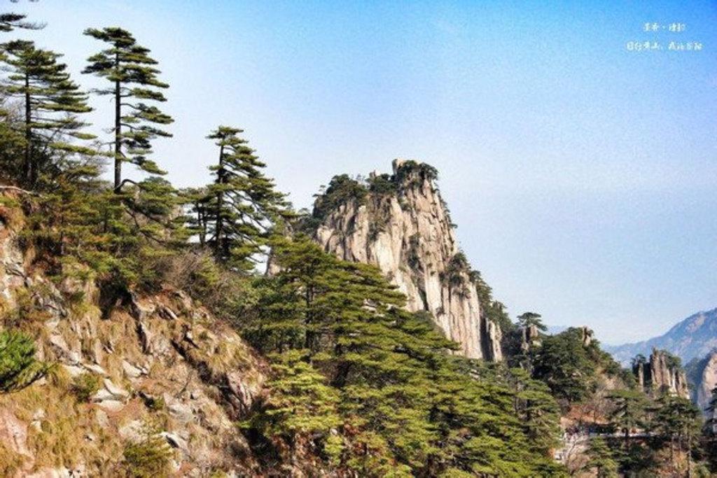 黄山风景区景点