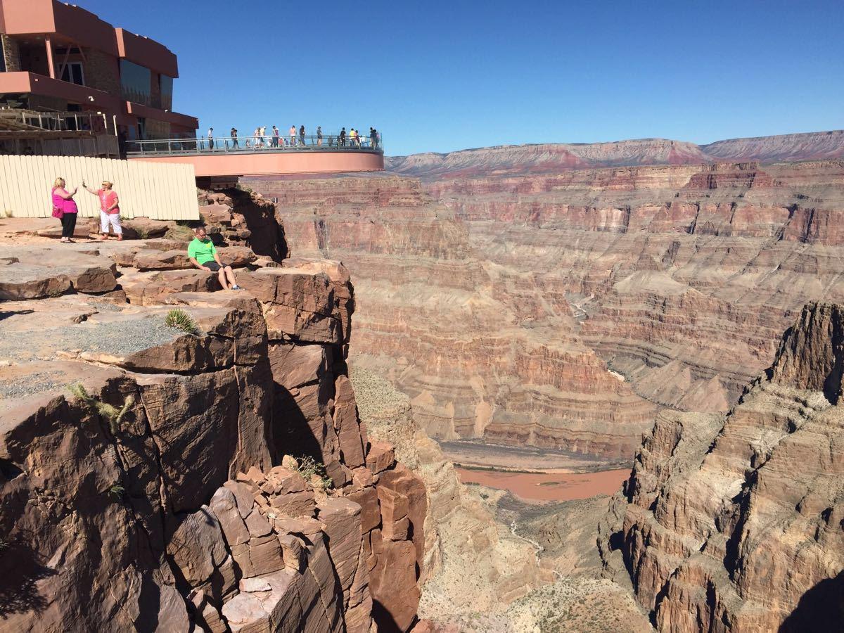 美国大峡谷(西峡)一日游【直升机+玻璃桥】