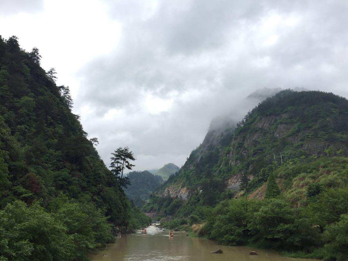 浙西大峡谷旅游景点攻略图