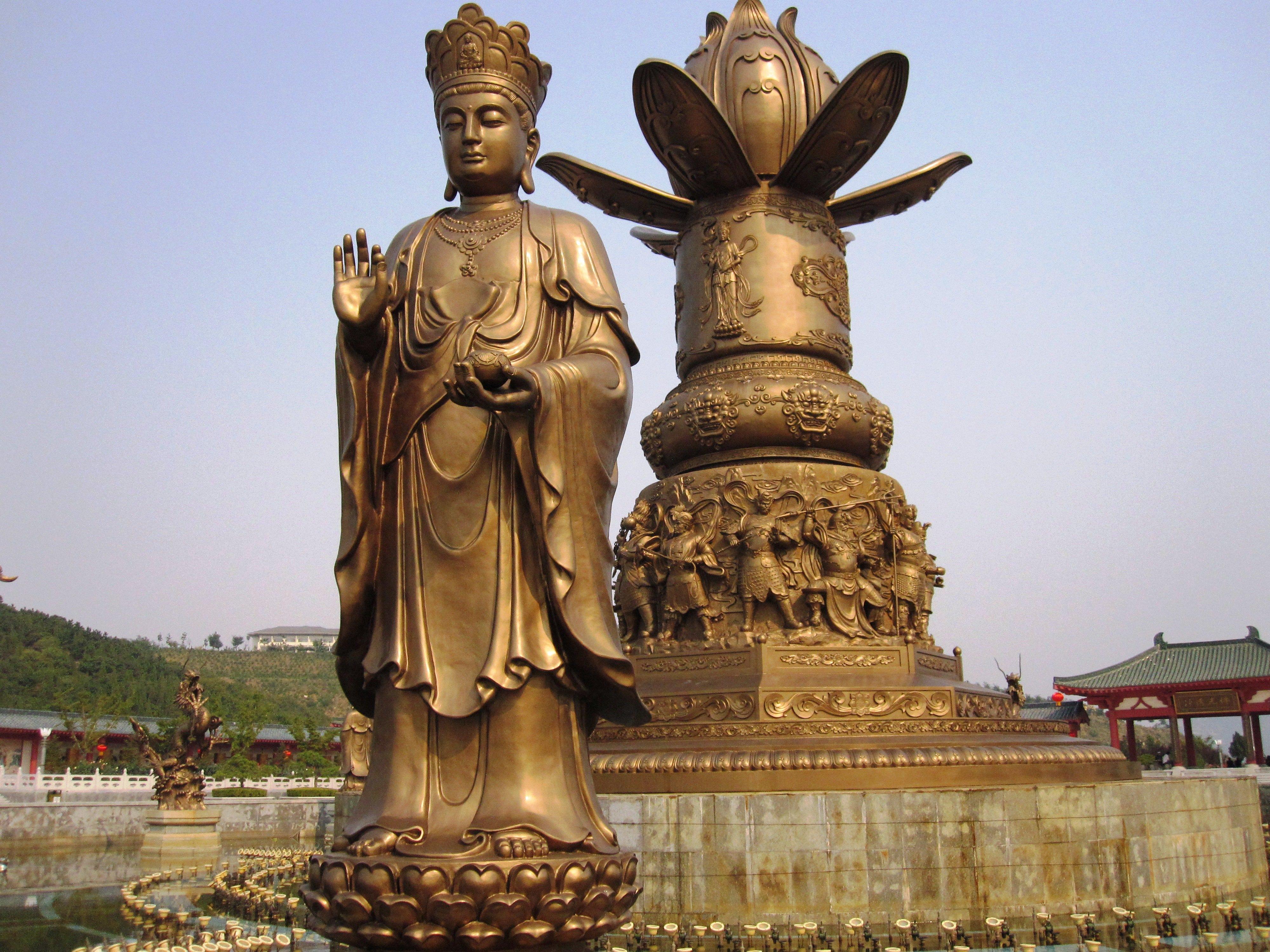 烟台南山旅游区高清图片