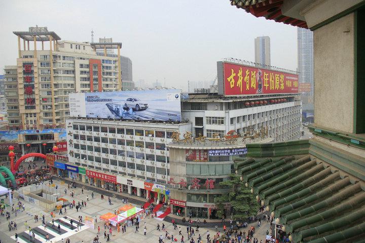郑州二七塔矢量图