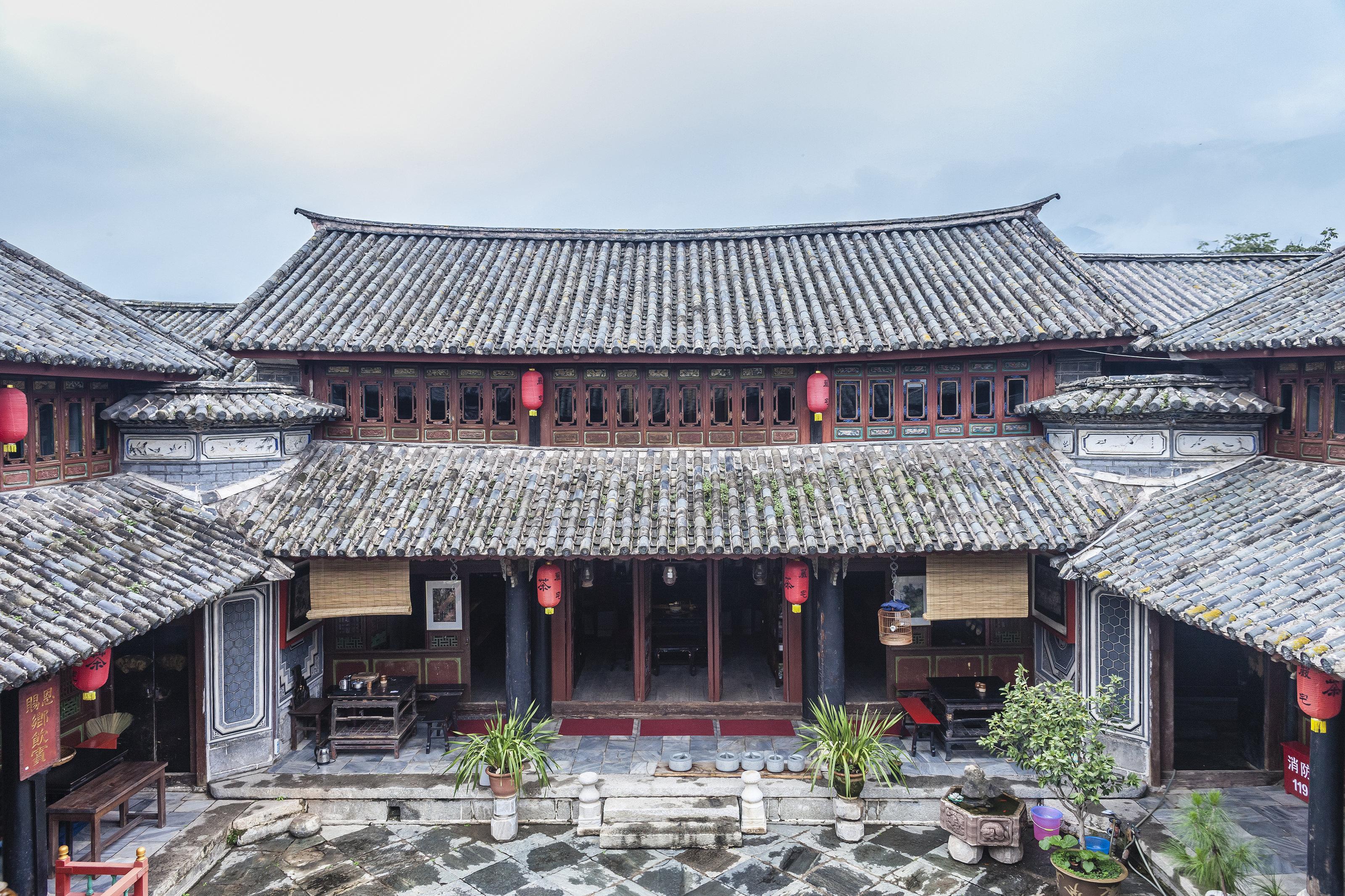 云南著名建筑简笔画