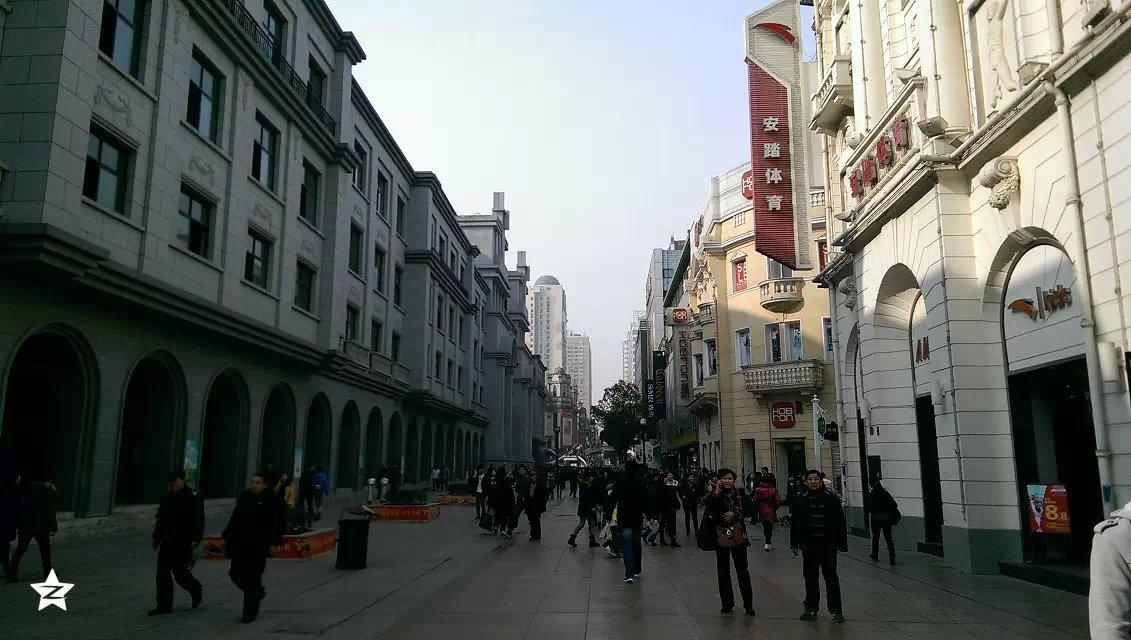 步行街 街道 街景
