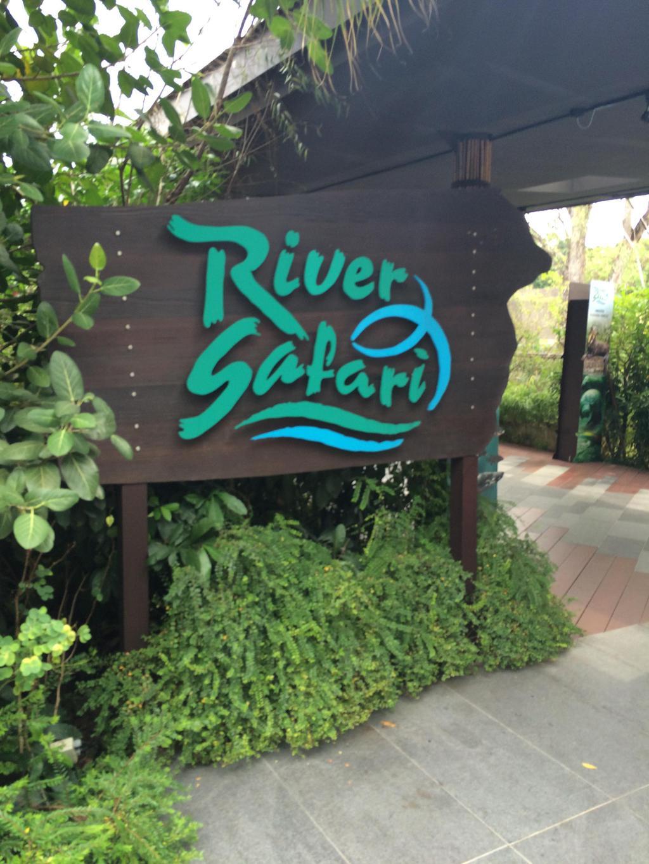 出动物园向左走就是河川生态园了,其实我觉得去过水族馆的话就没必要