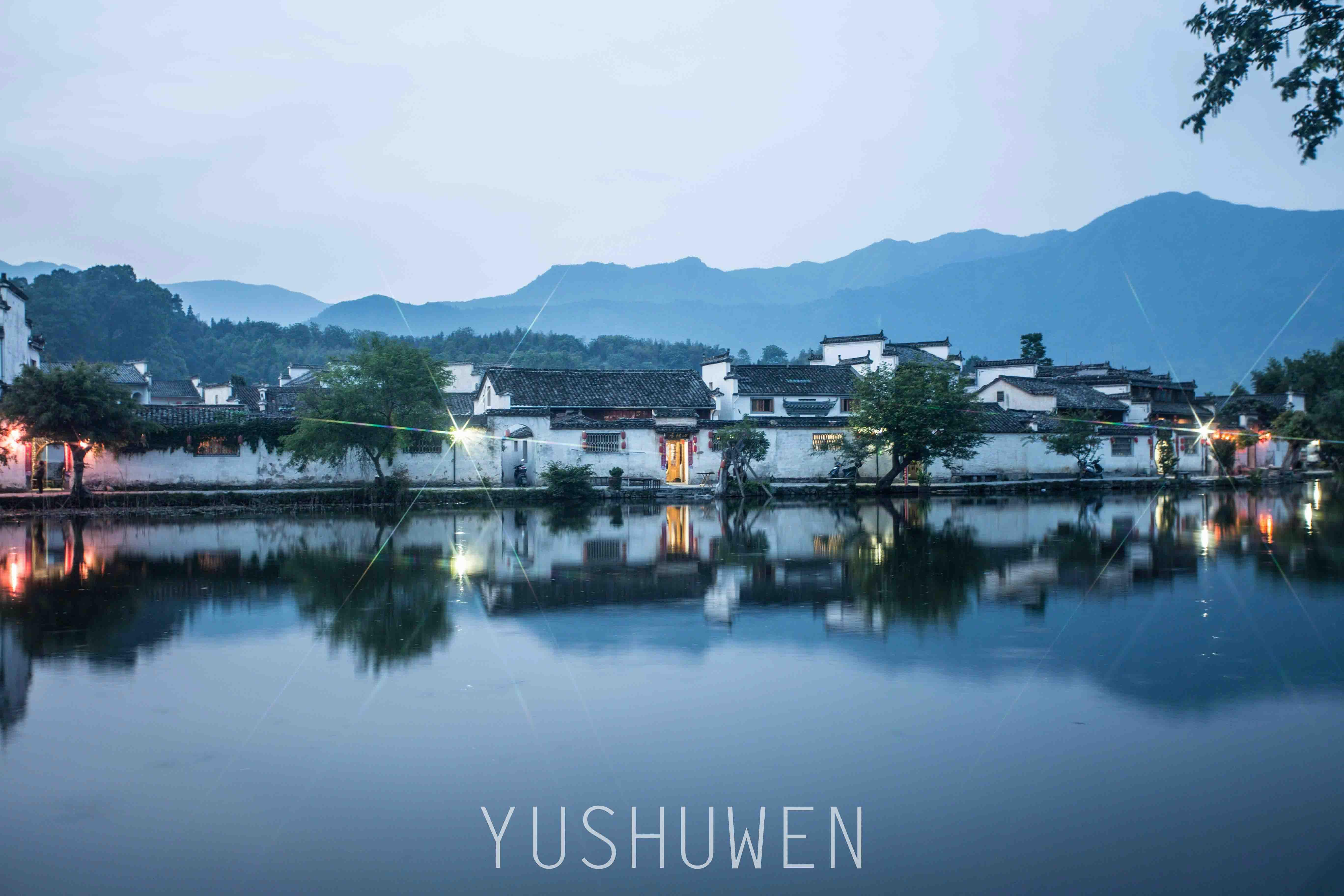 杭州西湖风景速写