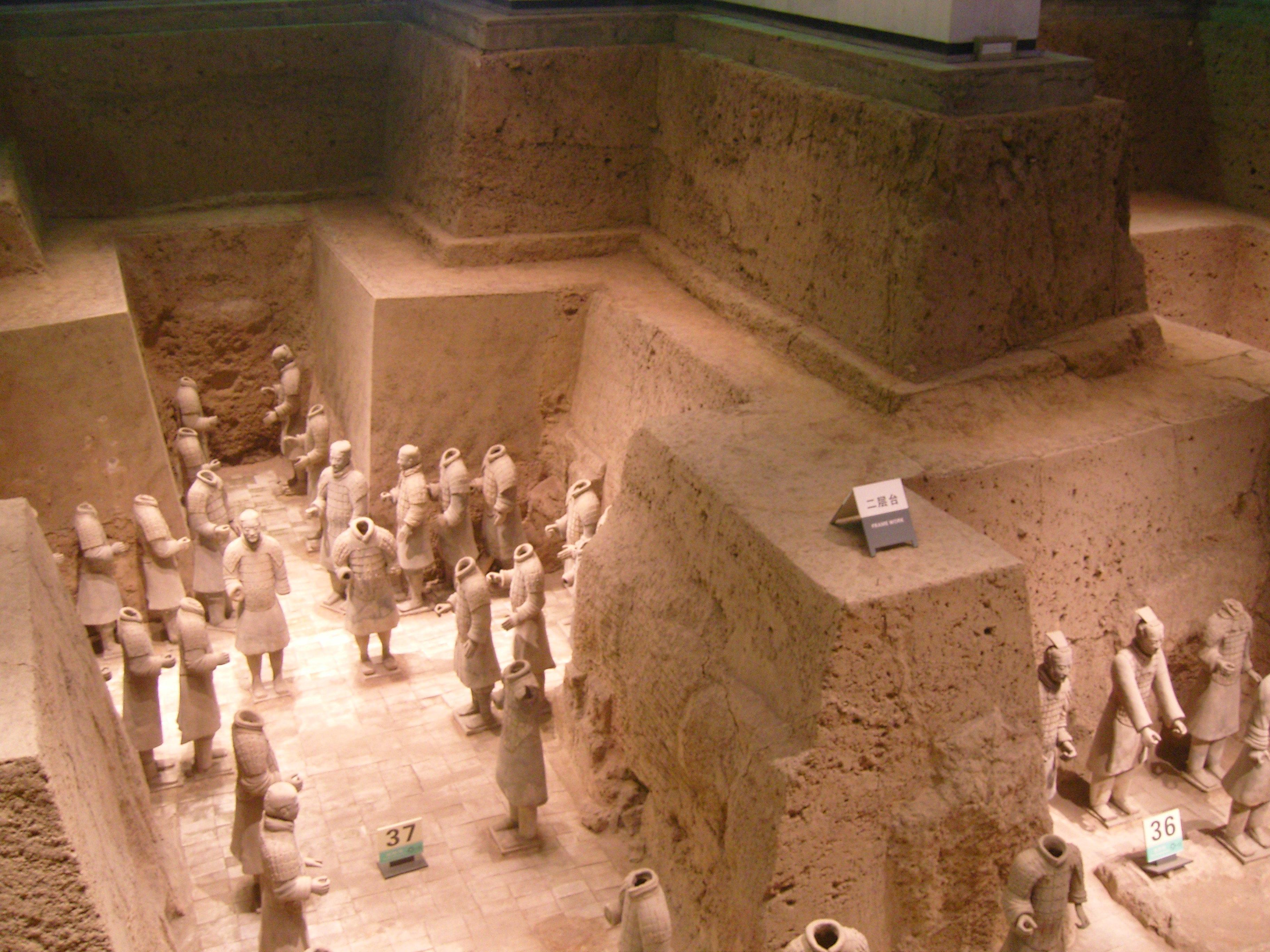 兵马俑博物馆景点