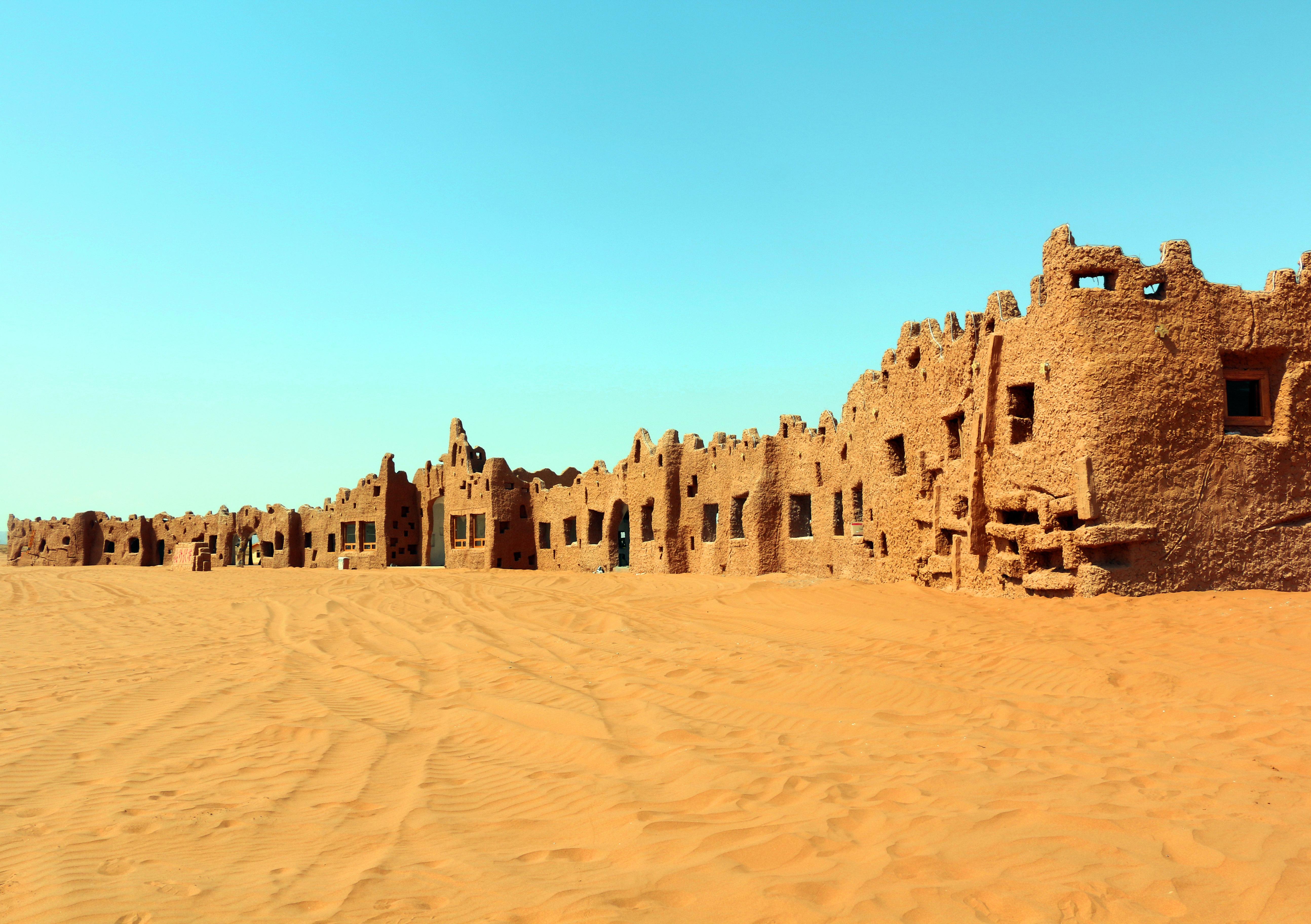 绿色沙漠中国梦素材