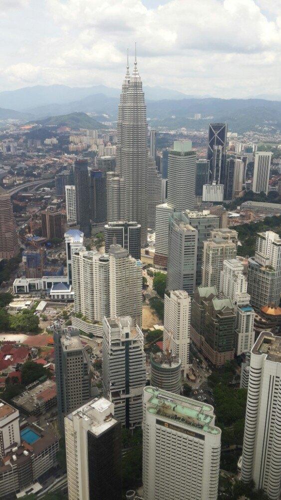 觉得还不错,看到吉隆坡城市的风景