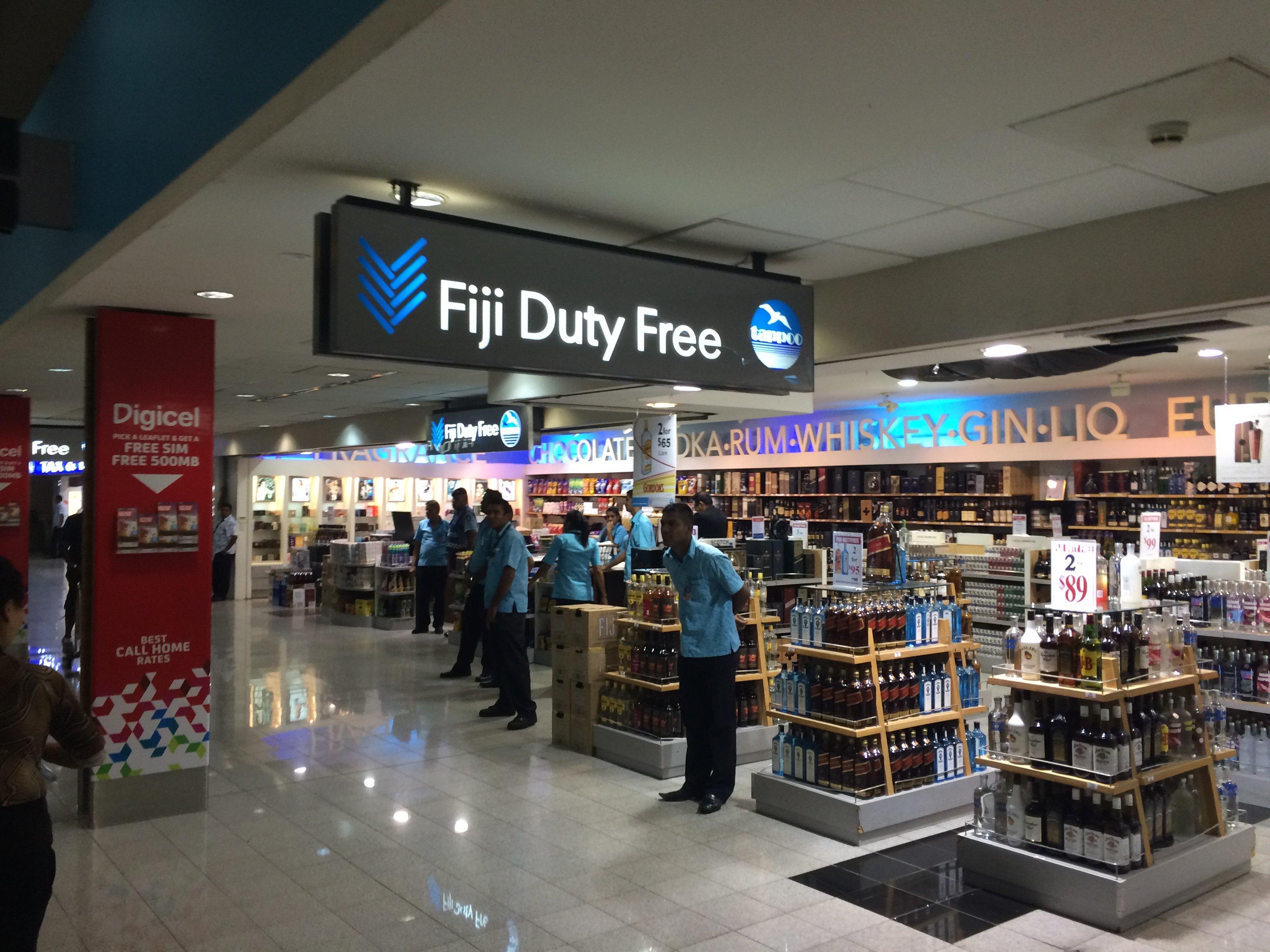 【携程攻略】斐济斐济楠迪国际机场免税店购物攻略